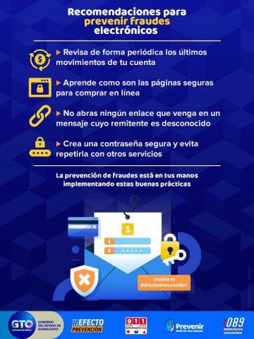 ¡Alto a los fraudes electrónicos!