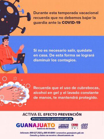 Lávate las manos. ¡activa el Efecto Prevención!