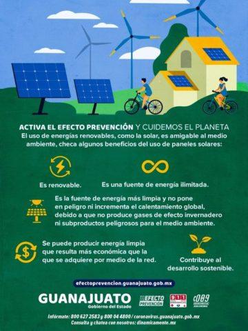 #EfectoPrevención en el cuidado del planeta.